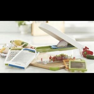 Princess House Vida Sana 5-In-1 Deluxe Food Choppr